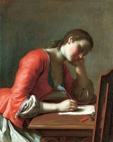 girlwritingletter